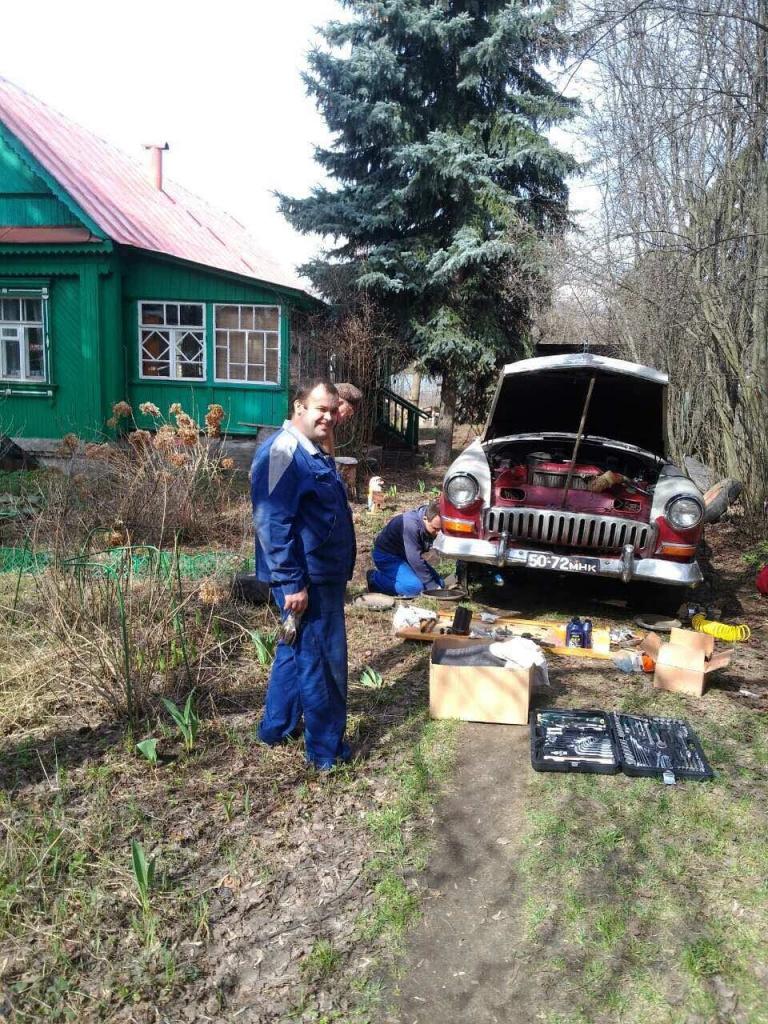 Волга ветерана Мотова